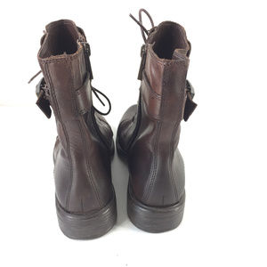Vince Camuto Shoes - Vince Camuto Taryn Boot 6.5 Brown leather Military